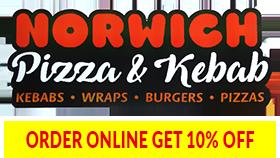 NORWICH PIZZA & KEBAB
